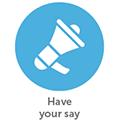 Home Page Icon - Have your say