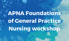 Foundations of General Practice Nursing Workshops