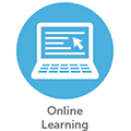 Home Page Icon - Online learning