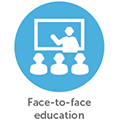 Home Page Icon - Face to face
