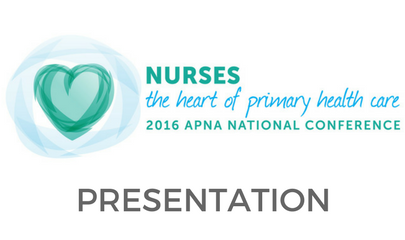 Primary Health Care Nursing in a Changing World Leading the Way