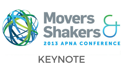 Keynote Presentation - Movers & Shakers - Jenny Carryer